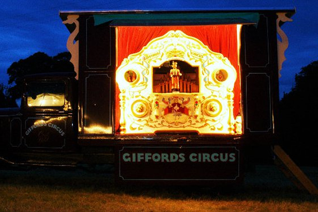 Giffords Circus Stinson Organ